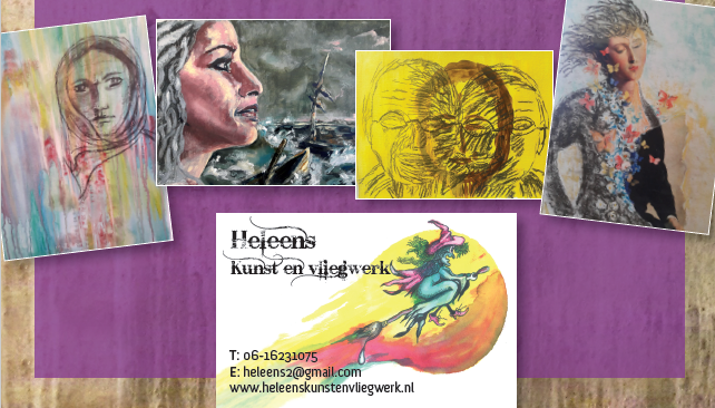 Portretten en Schilderijen - Tekeningen en illustrators - Logo's en ontwerpen